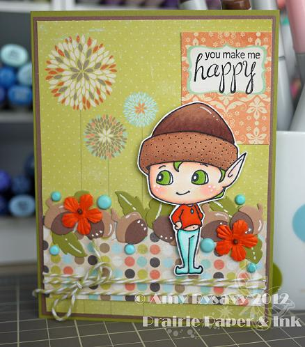 SN Nutter Happy Card by AmyR