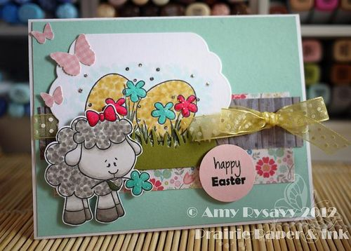 Spring Easter Card 1 by AmyR