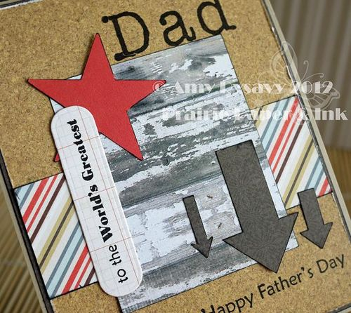 Fathers Day Card 1 Closeup by AmyR