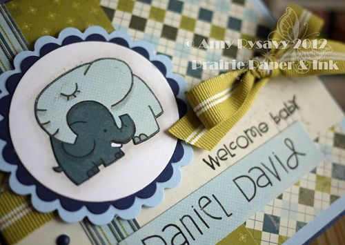 Baby Card 1 Closeup by AmyR