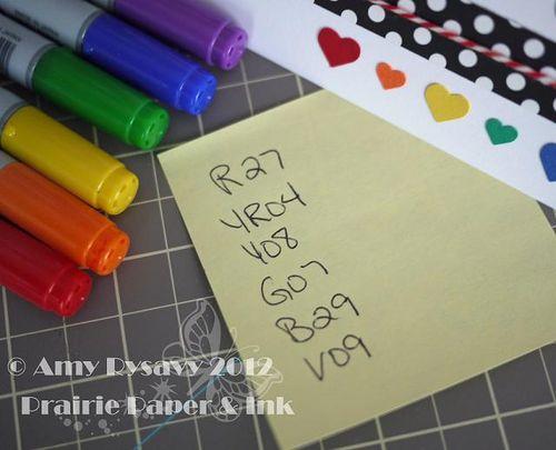 AmyR Valentine Card 3 Copics