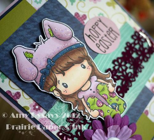 Spring Easter Card 2 Closeup by AmyR