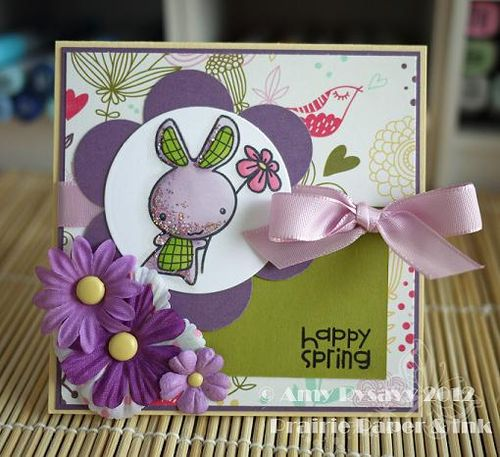 Spring Easter Card 6 by AmyR