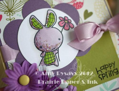Spring Easter Card 6 Closeup by AmyR