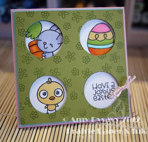 Spring Easter Card 7 by AmyR
