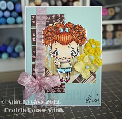 TGF Hello Chica Card by AmyR