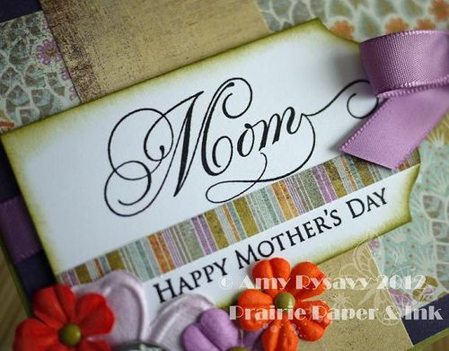 Mothers Day Card 1 Closeup by AmyR