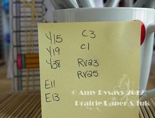 MAC Card 12 Copics by AmyR