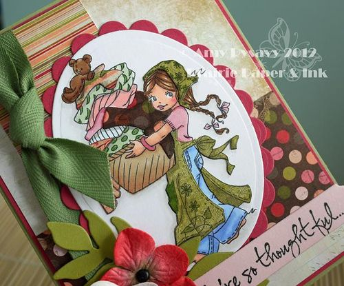 Summer Card 7 Closeup by AmyR