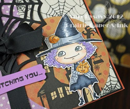 Halloween Card 4 Closeup by AmyR