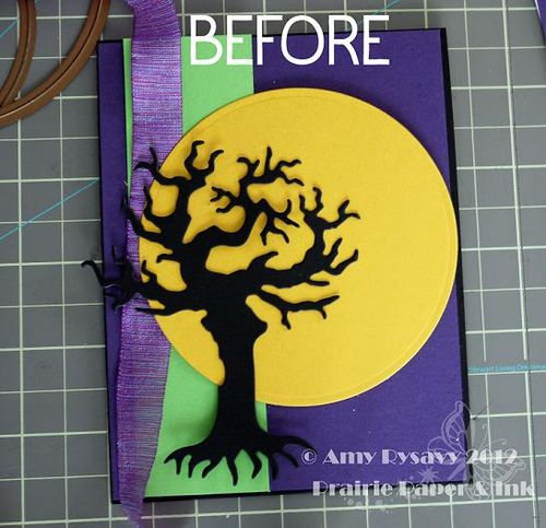 Halloween Card 7 Before by AmyR