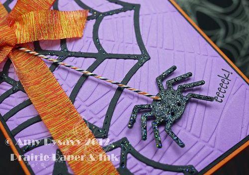 Halloween Card 9 Closeup by AmyR