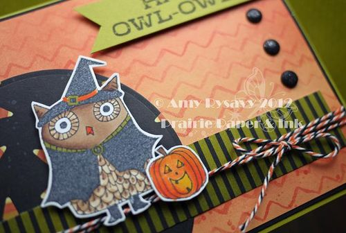 Halloween Card 11 Closeup by AmyR