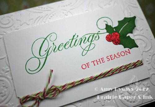Christmas Card 2 Closeup by AmyR