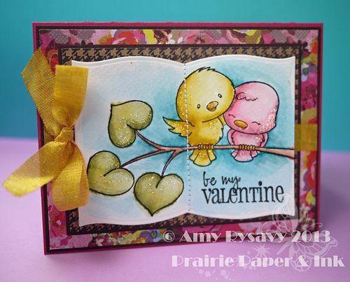SN Love Birds Vtine Card by AmyR