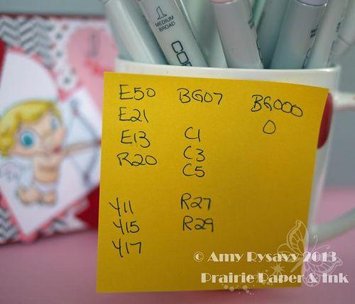 MM Cupid Vtine Card Copics by AmyR