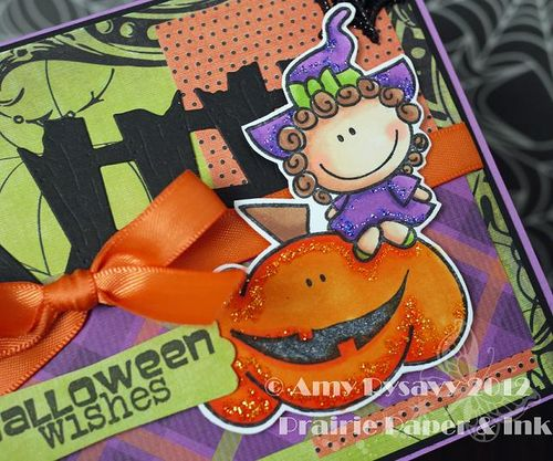 Halloween Card 1 Closeup by AmyR