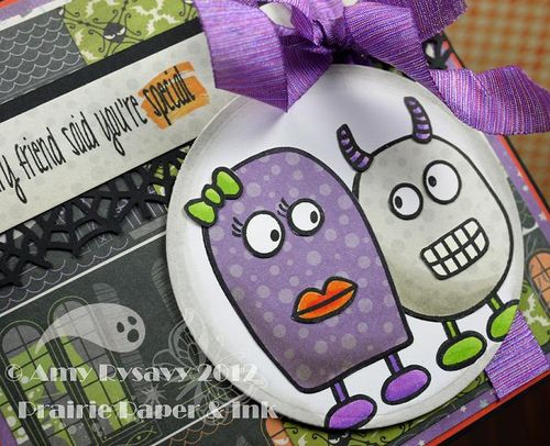 Halloween Card 2 Closeup by AmyR