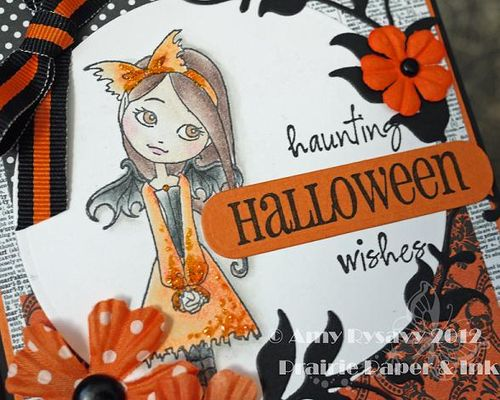 Halloween Card 6 Closeup by AmyR