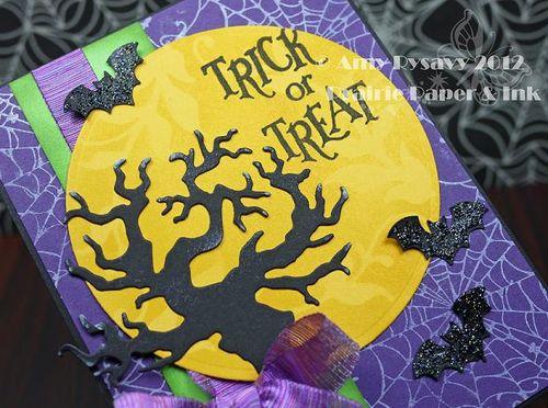 Halloween Card 7 Closeup by AmyR