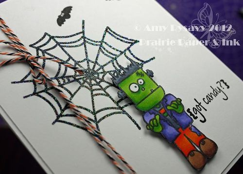 Halloween Card 10 Closeup by AmyR
