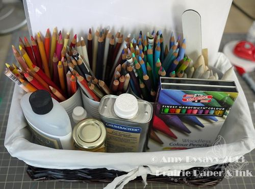 Prismacolor and OMS Storage