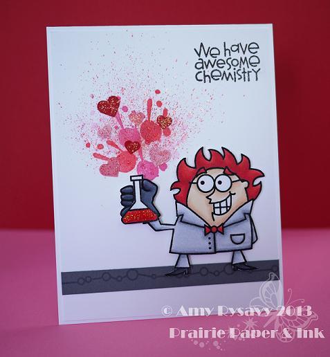 PS Great Chem Vtine Card by AmyR