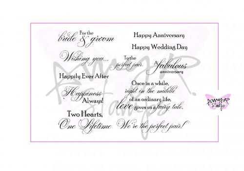 Wedding Sentiments II