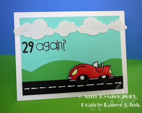 PS My Guy Bday Sampler Card by AmyR