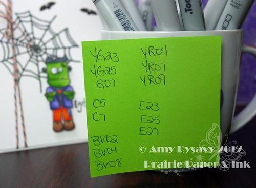 Halloween Card 10 Copics by AmyR