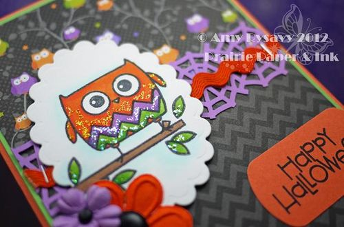 Halloween Card 12 Closeup by AmyR