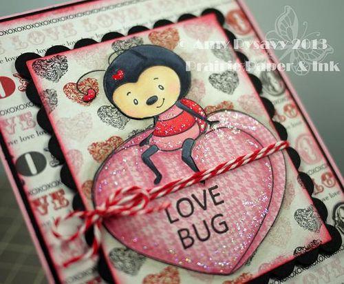 SN Love Bug Vtine Card Closeup by AmyR