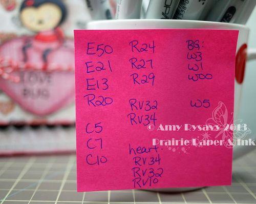 SN Love Bug Vtine Card Copics by AmyR