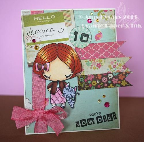 Veronica 10 Bday Card by AmyR