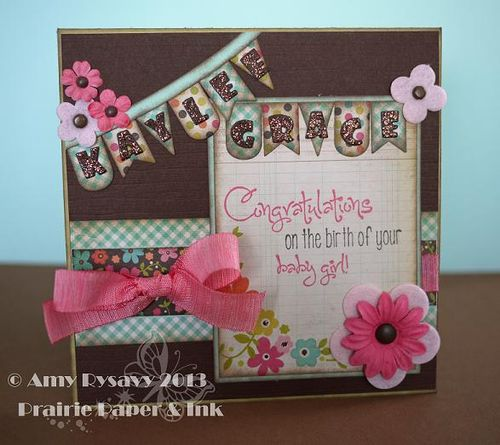 Kaylee Baby Card by AmyR