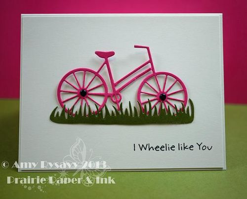 MFT Bicycle Card by AmyR