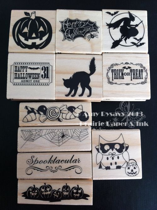 Michaels Hween dollar stamps 2013