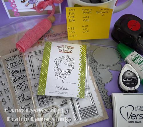 TGF Chelsea Bday Card Supplies by AmyR