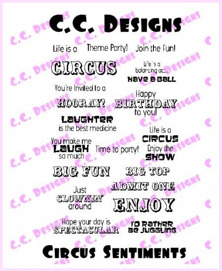 AmyR Circus Sentiments
