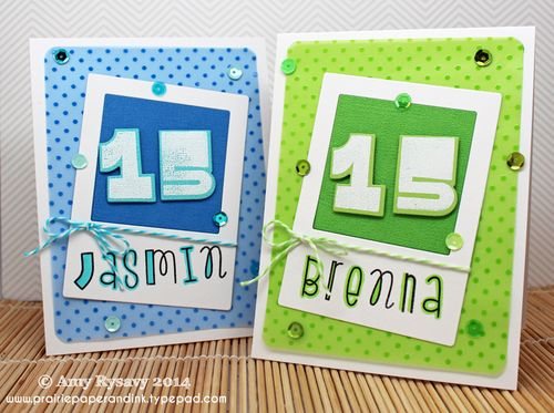 Twins-15-Bday-Cards-by-AmyR