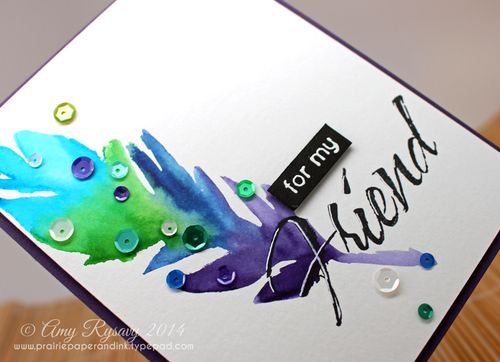 AmyR-Watercolor-Feather-Friend-Card-Closeup