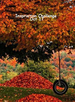 Inspiration 11-Oct-17