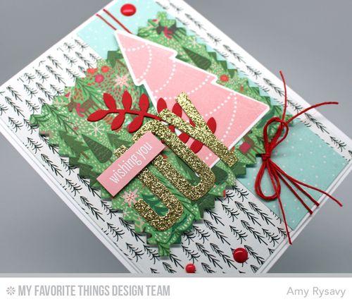 MFT Wishing You Joy Card Closeup by AmyR
