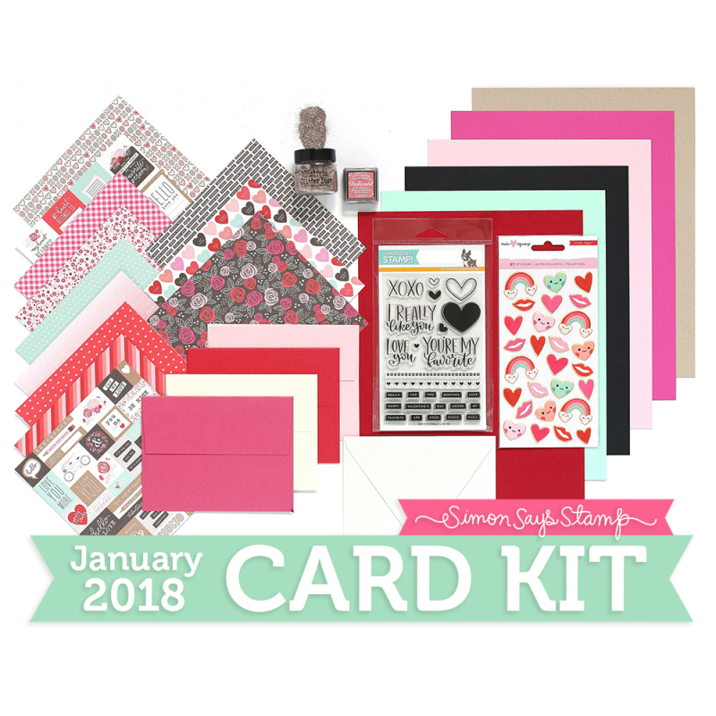 January Card Kit 1000x1000