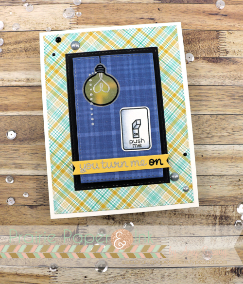 Prairie Paper & Ink: Lawn Fawn Light Up Card with