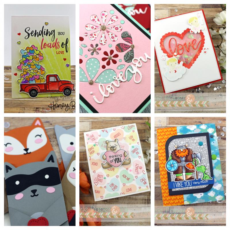 Valentine collage 1