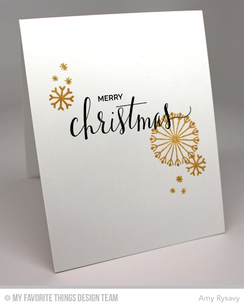 Snowflake Card Quartet Card 2 Inside by AmyR