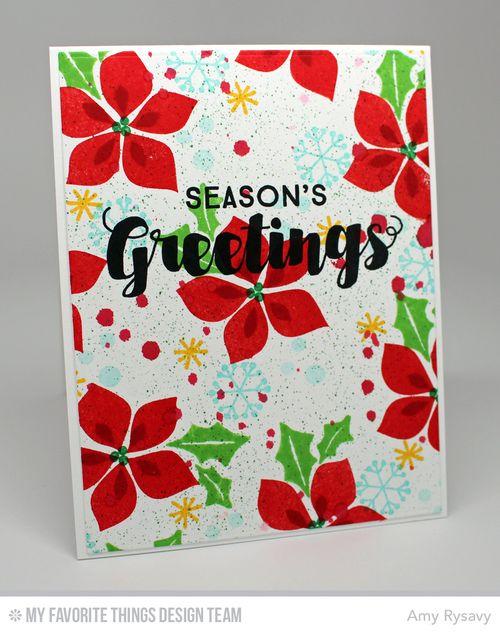Seasons Greetings Card by AmyR