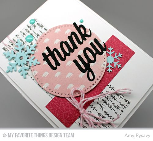 MFT Thank You Card Closeup by AmyR