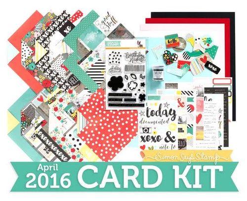 SSS April Card Kit
